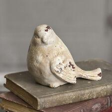 Rustic Bird Statue Figurine Cast Iron Farmhouse Country Decor Decoration