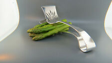 Large Vintage Sterling Silver Asparagus Tongs GREAT