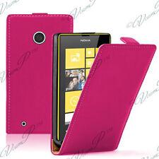 Accessoires Etui Coque Housse Pu Vrai cuir ROSE Nokia Lumia 530/ 530 Dual Sim