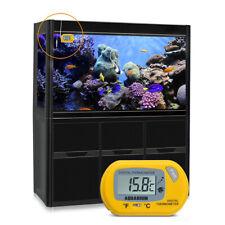 Digital LCD Aquarium Water Thermometer Fish Tank Marine Terrarium Stick On AU