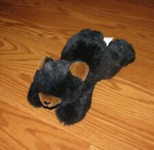 "BABY BLACK BEAR Bean Bag Plush 8.5"" in length"