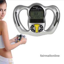 Portable Body Fat Analyzer Monitor Measure Mass Index BMI  Machine CA