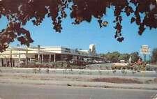 Largo Florida Pinellas Shopping Center Street View Vintage Postcard K43780