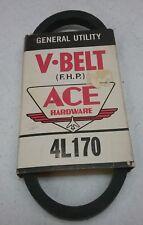 ACE HARDWARE GENERAL UTILITY V-BELT FHP 4L170