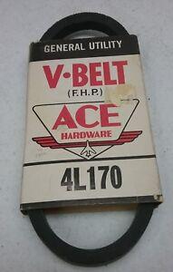 ACE HARDWARE GENERAL UTILITY V-BELT FHP 5L390