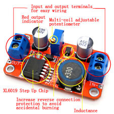 5A Dc-Dc step up power module boost`volt converter 3.3V-35V to 5V 6V 9V 12 Nmus