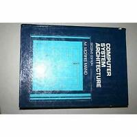 Computer System Architecture Hardcover M. Morris Mano
