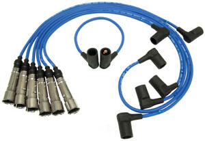 NGK 54316 Ignition Wire Set Fits Mercedes-Benz 280CE 280E 1981 Blue 7mm RCEUC040