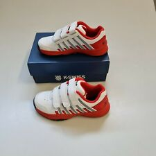 K-Swiss Schuhe Tennis Court Impact LTR Omni Strap Kinder Gr. 31 55416-165-M