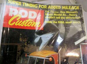 Rod & Custom Magazine March 1974 Super Tuning Added Mileage