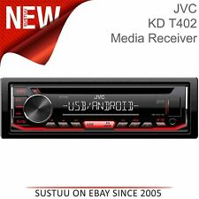 JVC Car Stereo¦1-DIN CD Receiver¦Media Player¦USB/AUX Input¦Android¦MP3¦FLAC¦RDS