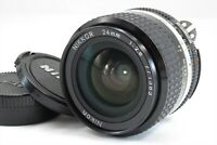 【EXC+++】Nikon Ai-S Nikkor 24mm f/2.8 Wide Angle MF AiS Lens from Japan #3242
