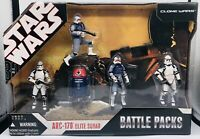 Star Wars Battle Packs ARC-170 Elite Squad Clone Hasbro
