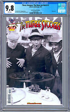 THREE STOOGES THE BOYS ARE BACK #1 CGC 9.8 RETAILER INCENT SOLO CGC GRADED 2016