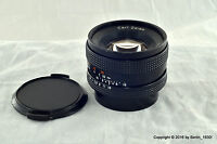 Carl Zeiss Planar 1.7 / 50mm T* Manual Focus Lens Contax Yashica mount
