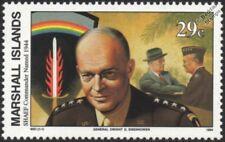 La segunda guerra mundial 1944 general Dwight D. Eisenhower SHAEF comandante supremo de los aliados Sello