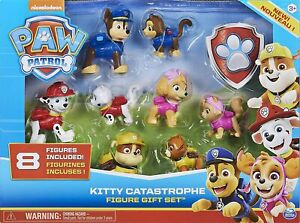 PAW Patrol 6058524 - Kitty Catastrophe Gift Set with 8 Collectible Figures