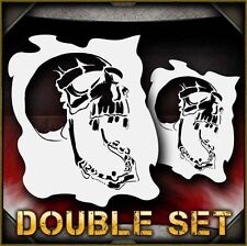 Skull 2b Airbrush Stencil Template Airsick