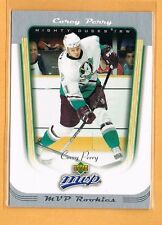 2005-06 Upper Deck MVP Corey Perry Rookie #415 Anaheim Ducks RC