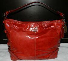 Coach Chelsea Katarina Paprika Patent Leather Hobo Bag Style #18959~PERFECT!
