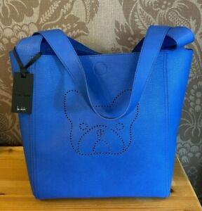Ben de Lisi Ella Tote Bag with Pouch BNWT Blue