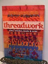 Treadwork Silks Embroidery Stitches Beads Cords Effie Mitrofanis Knots Tassels