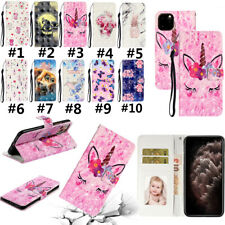 Flip Wallet Stand PU Leather Phone Case Cover For iPhone 11 Max X 5 6s 7 SE 2020