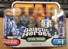 Star Wars Galactic Heroes Super Battle Droid and R2-D2 Mini Figure Pack