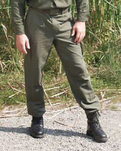 Bundeswehr Hose, BW Moleskinhose, Feldhose oliv