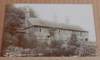 Postcard Consall Staffordshire  Bridge Cottage  Real Photo unposted.