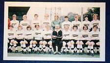 Darlington   Superb  Original Vintage Colour 1971 Team Photo Card