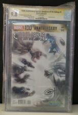 CGC 9.8 Guardians Of The Galaxy #1 100 Anniversary Faded Greg Horn SIGNED LOT C