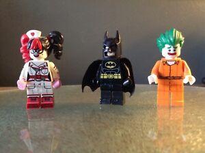 Lego Mini Figures Batman Joker Arkham harlequin nurse