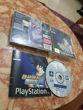 DRAGON BALL FINAL BOUT PS1 PAL PLAYSTATION 1 BLACK LABEL FUNZIONANTE COMPLETO