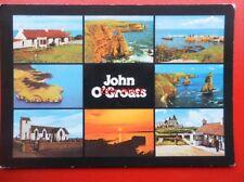 POSTCARD CAITHNESS JOHN O GROATS MULTI VIEW 1