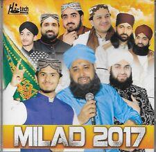 MILAD 2017 - NAAT ISLAMIC NAAT SOUND TRACK CD - FREE UK POST