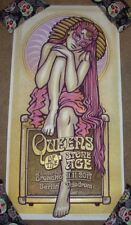 QUEENS OF THE STONE AGE concert gig poster BERLIN 11-11-17 2017 Lars Krause PURP