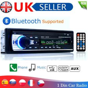 Stereo Car Radio Bluetooth Head Unit MP3 Player FM/USB/SD/AUX-IN In-dash 1 Din