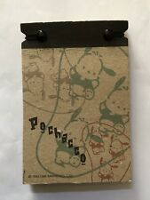 Sanrio '89 '96 Vintage Pochacco Small Notepad Notebook Kraft Paper Like 55 Pages