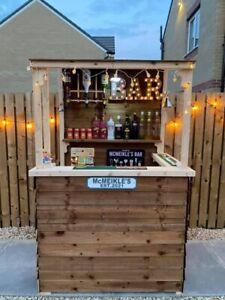 Summer Garden Bar ( Mid Fresh Wood ) *** BEST SELLER***