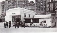 IMAGE 1940 PRINT ALGER INTERIEUR DU CAFE MAURE ACCEUIL POUR MILITAIRES ALGERIE
