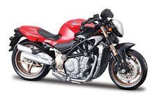 Motorrad Modell 1:18 MV Agusta Brutale S rot / schwarz von Maisto