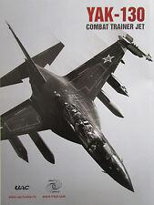10/2013 PUB IRKUT UAC RUSSIA YAK-130 COMBAT JET TRAINER ORIGINAL AD