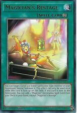 YU-GI-OH CARD: MAGICIAN'S RESTAGE - RARE - MACR-EN051 - 1st EDITION