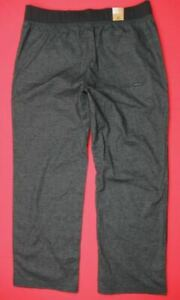 Prana NWT $79 Mens XL 38-40 x 30 Vaha Yoga Hemp Lounge Pants Gray