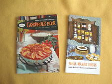 Vintage Cookbooks: Good Housekeeping's Casseroles & Meal Ideas from Nalley's