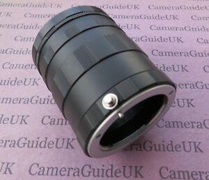 Macro Extension Tube Micro 4/3 for Panasonic Lumix DC-BGH1 DC-G100 DC-GX9