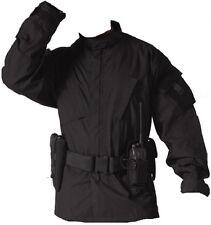 Black Police Military Law Enforcement Combat Tactical Rip-Stop BDU Shirt 5450