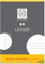2 x Silvine Book Keeping Ledger - A4 32 PAGE Accounts Finance Tax Return