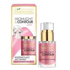 Bielenda Highlight and Contour Pink Highlight Face Cream Improve Color Effect